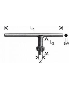 Llave repuesto corona dentada ZS14x60x30x6