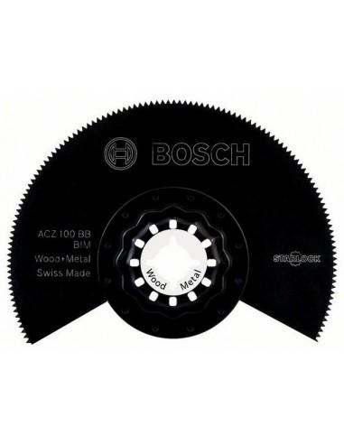 Hoja de sierra segmentada BIM ACZ 100 BB Wood and Metal