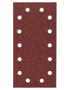 Hoja de lija Expert Wood 115x230, 14 perf. Gr.40