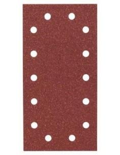 Hoja de lija Expert Wood 115x230, 14 perf. Gr.80