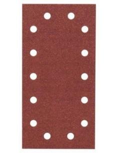 Hoja de lija Expert Wood 115x230, 14 perf. Gr.100