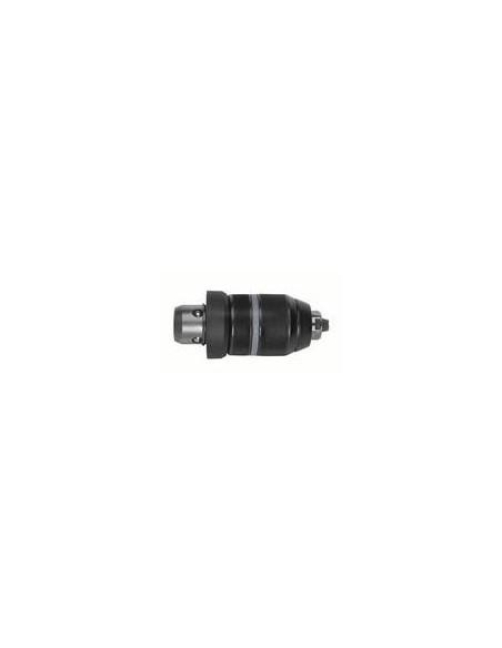 Portabrocas de sujeción rápida 1,5-13 mm con adaptador