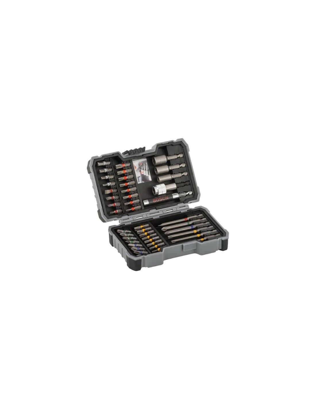 27 piezas BOSCH 2607017201  Set de brocas y puntas de atornillar