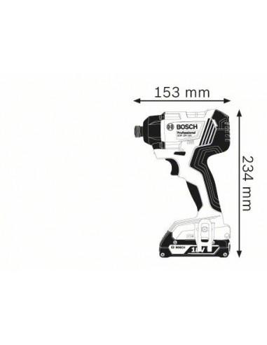 Atornillador de impacto a batería GDR 18 V-160 Professional