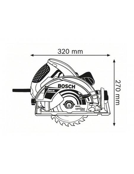 Sierra circular portátil Bosch GKS 65 Professional