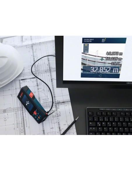 Medidor láser de distancias GLM 120 C Professional