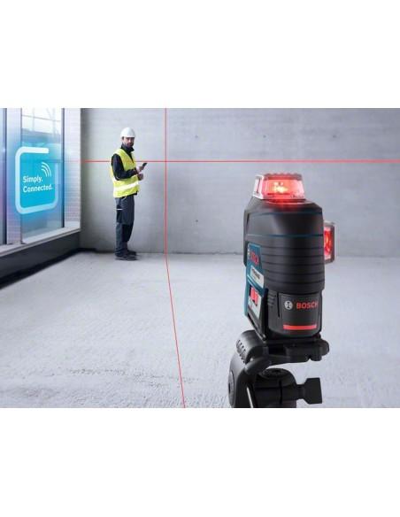 Nivel láser de líneas GLL 3-80 C Professional + BM 1