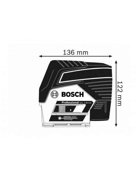 Láser combinado GCL 2-50 CG Professional